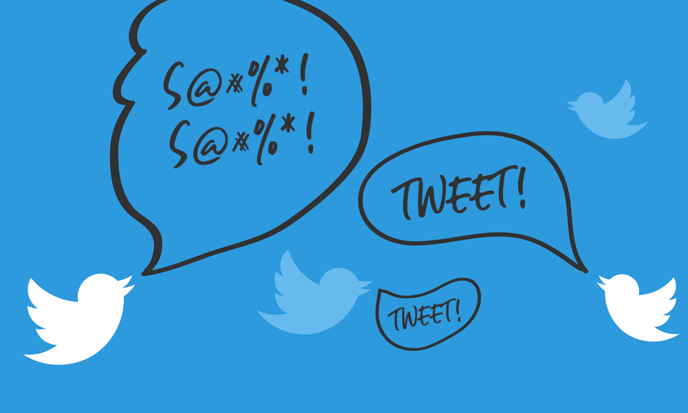 Negative tweets