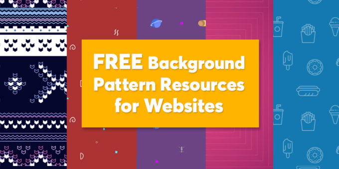 Free best pattern background resources for websites