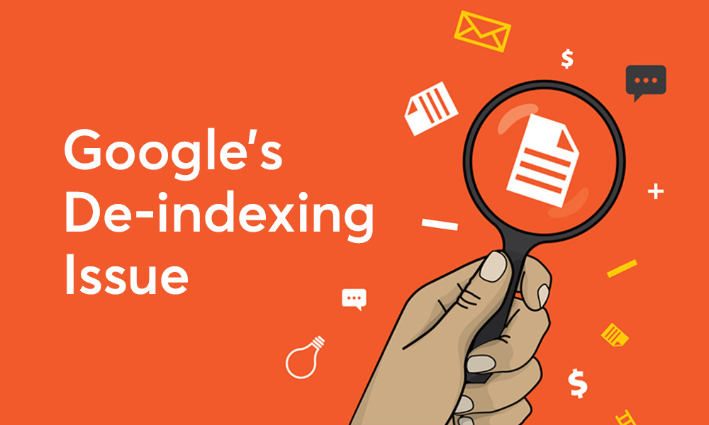 Google De-Indexing Issue This Week