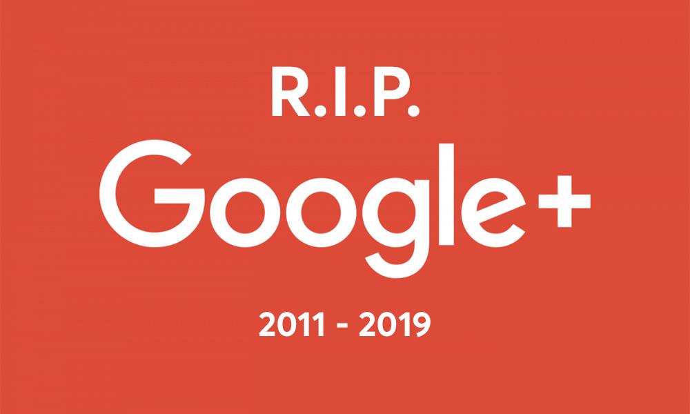 Google Plus Dies